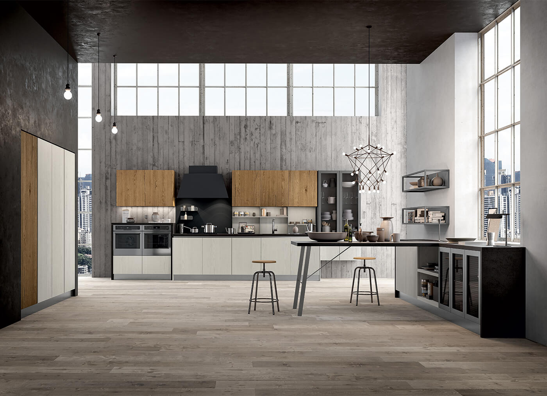 Cucina moderna dal design contemporaneo ed industriale for Portale arredo 3
