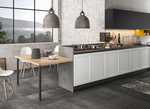 Cucina moderna in stile classico contemporaneo frame arredo3 for Arredo 3 srl legnago