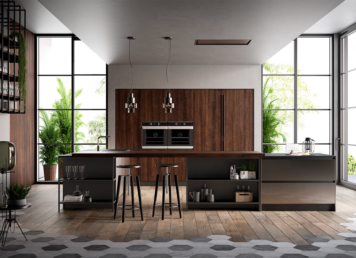 Cucina moderna e versatile - Kalì - Arredo3